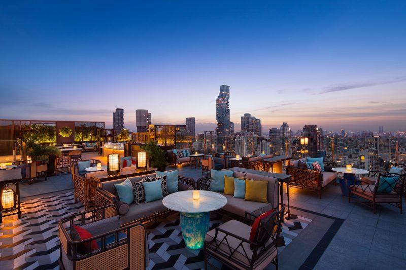 曼谷萬豪|蘇拉翁塞 Bangkok Marriott Hotel 高空酒吧